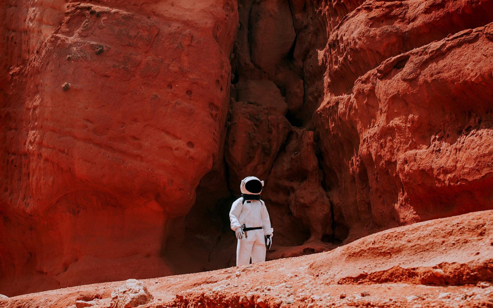 La spiruline sur Mars ? (crédit photo Nicolas Lobos @Unsplash)